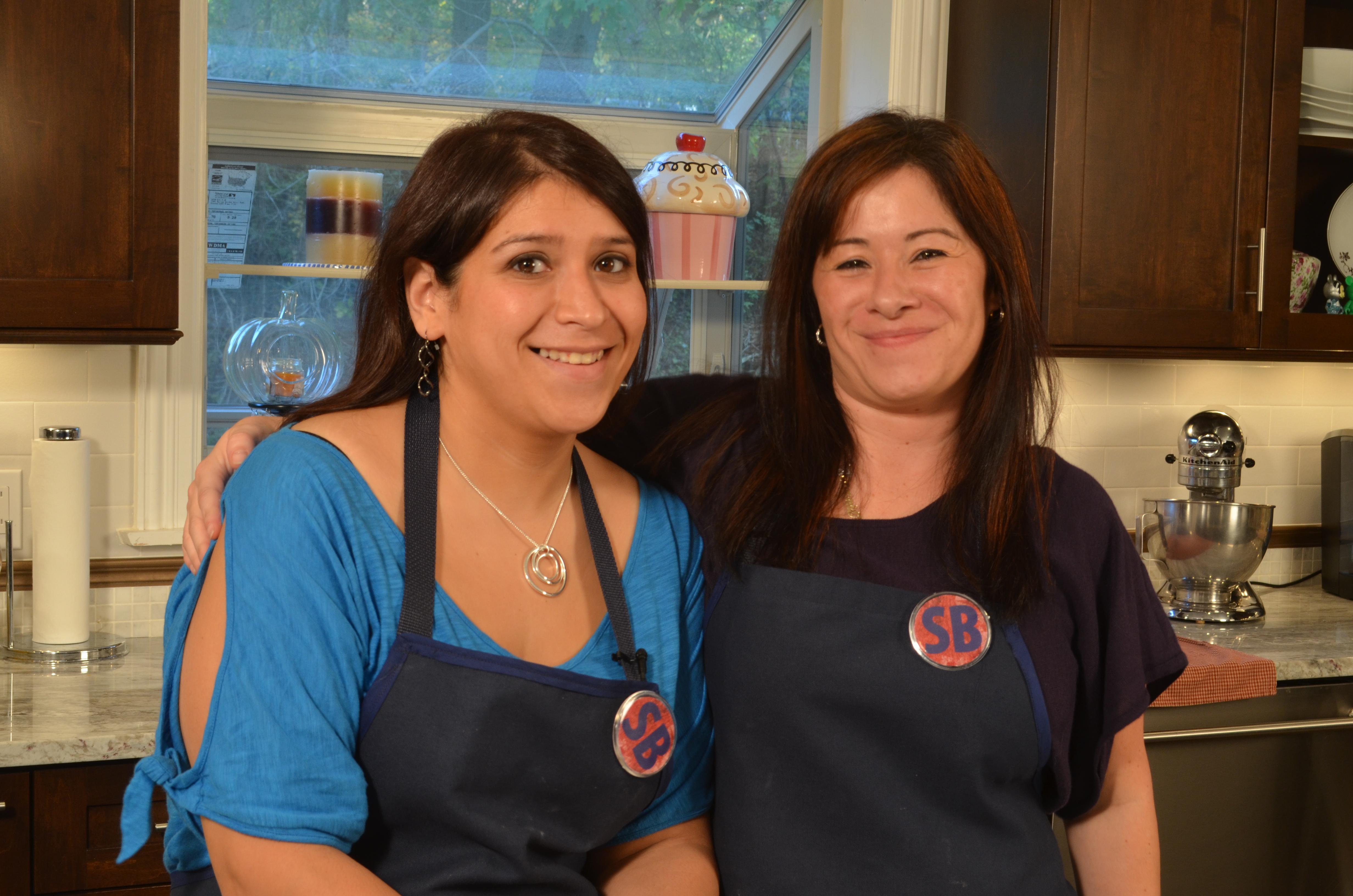 Chef Melissa Dimaio and jeannie Calderon