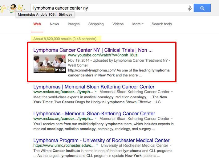 LymphomaCancerCenterScreen