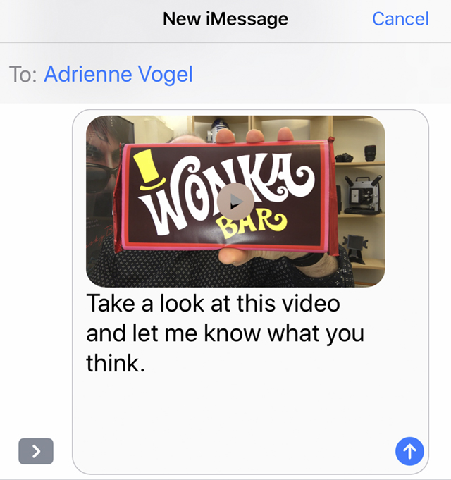 Video Text Message