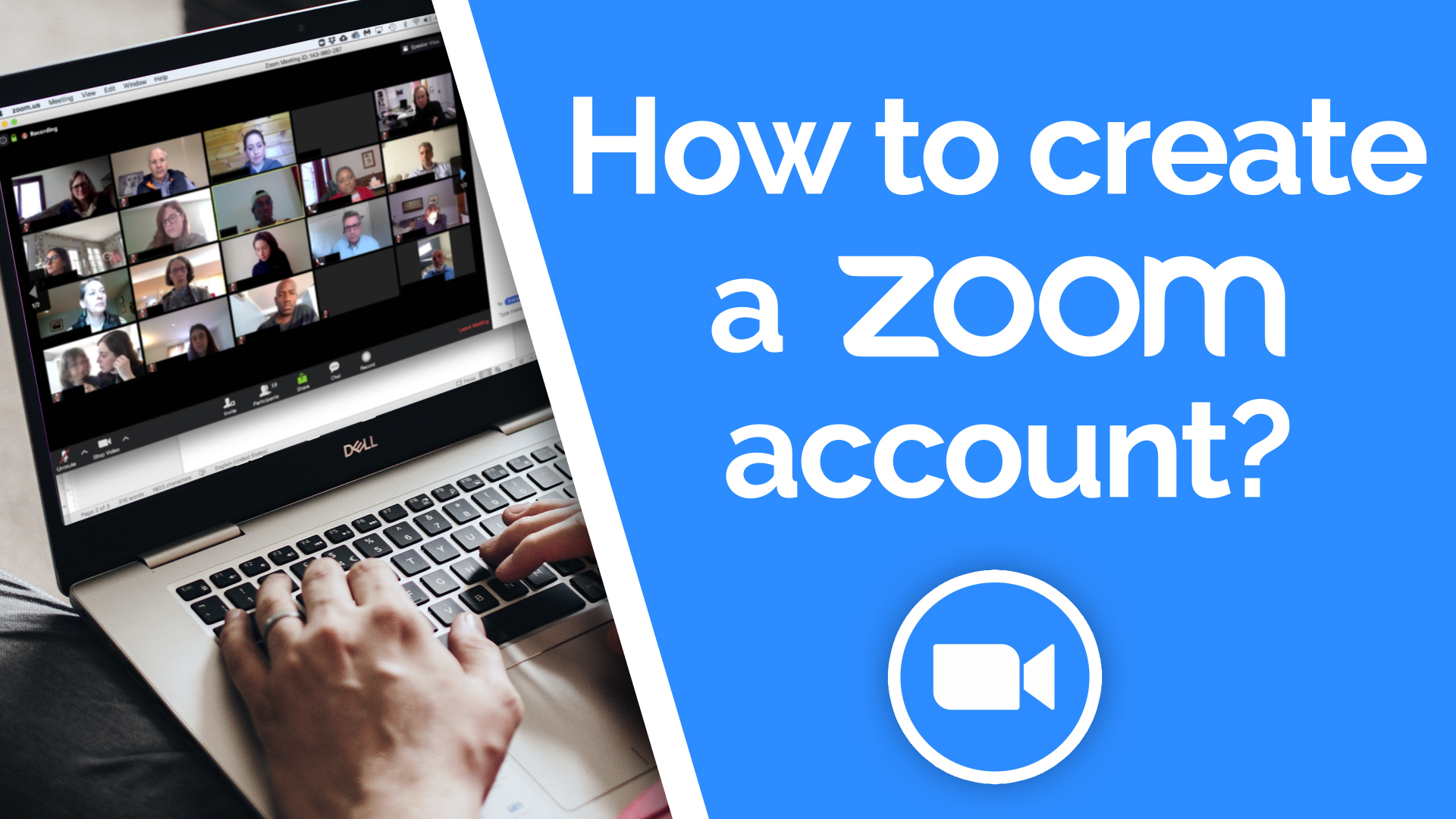 How to create a Zoom account?